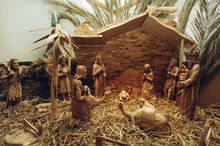 Bethlehem Krippe im Stadtmuseum