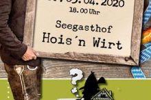 Original Wirtshauskrimi beim Hois'n Wirt