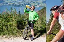 Mountainbikestrecke auf den Grünberg