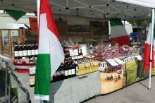 Italian Market at the town-hall-square