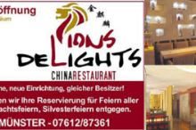 China Restaurant Lions Delight