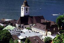 Führungen durch den historischen Markt und in der Wallfahrtskirche von St. Wolfgang
