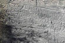Höhle mit etruskischen Inschriften