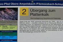 GEO TRAIL: Obere Ampelsbach-/Filzmoosbach-Schlucht