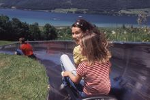 Summer Tobogganing in Strobl