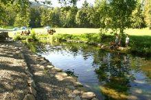 Fischteich und Gastgarten Tanna