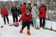 Gäste Eisstockschießen nach Pinzgauer Art