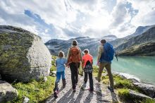Family Hike at the Weißsee