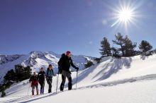 Schneeschuhwanderung mit einem Nationalpark Ranger