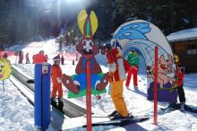 Skischulrennen mit Gästeklasse