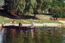 Naturbadesee Au/Donau