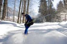 Cross-country skiing in Au - Schoppernau
