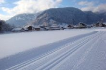 Cross-country skiing trails and winter hiking paths in Bezau