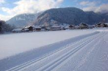 Langlaufloipen und Winterwanderwege Bezau