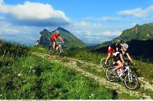 geführte Mountainbike Touren mit der Bikeschule Bregenzerwald