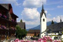 Denkmalgeschützter Dorfplatz
