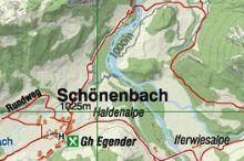 Wanderung nach Schönenbach