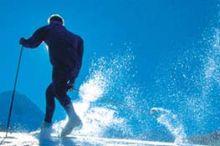 Hochmontafon cross-country skiing track