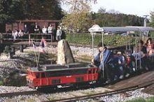 Wirtshaus zur Minidampfbahn