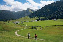 Alpenwanderung über Vorsäße und Alpen