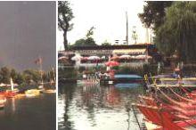 Bootsvermietung an der Alten Donau