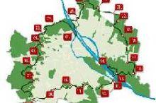 120 Kilometer in 24 Abschnitten