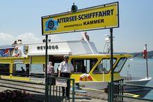 Attersee-Schifffahrt - Anlegestelle Kammer