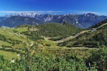 Alpine hike with a guided nature tours