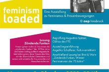 feminism loaded - Vernissage mit Lesung