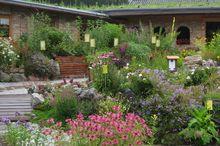 Kräutergarten beim Erlebnisbauernhof Oberhinteregg