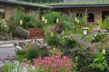 Herb garden at the Oberhinteregg adventure farm