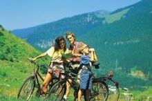Family-Biking in Gerlos