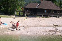Lunzer See - Flussbad in der Ybbs -Hallenfreibad