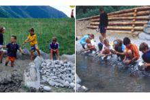 """Geo Spielplatz - """"Wasser und Steine"""""""