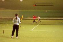 Tennishalle in der Freizeitanlage Tauchner-List