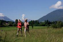 Lauf- und Walking strecken      Kneippbecken
