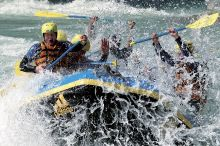 Rafting durch die Imster Schlucht
