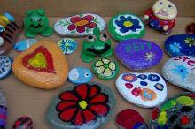 Steine bemalen für Kinder