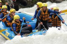 Rafting in der Ferienregion Imst