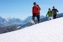 Schneeschuhwanderung an der Weißach