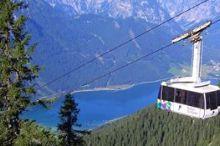 Rofan Seilbahn 980 m - 1.840 m