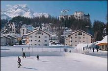 Natural ice-rink