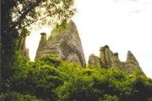 Earth pyramids of Euseigne