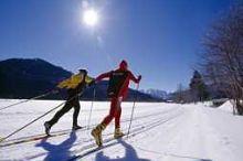 Cross Country Skiing Tracks