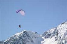 Paragliding und Drachen