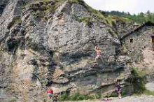 Palestra di roccia naturale – Dondena
