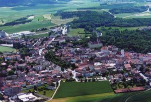 Luftbild Stadt Horn - Horn Niederoesterreich