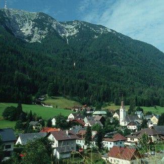 Blick auf Bad Bleiberg - Bad Bleiberg Kaernten