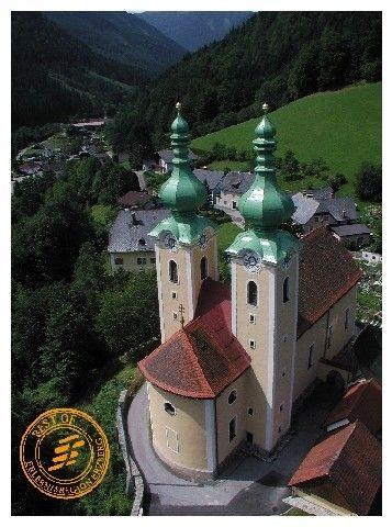 Wallfahrtskirche zum heiligen Antonius von Padua; 1602 erbaut von Kaiser Ferdinand II - Radmer Steiermark