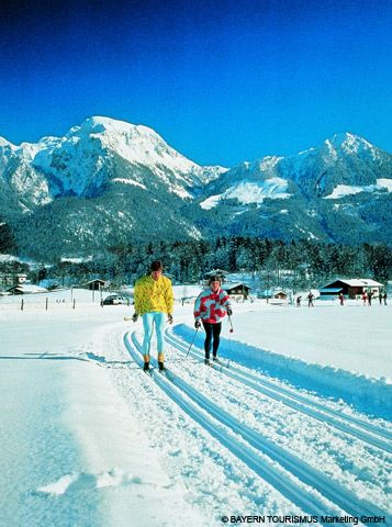 Langlauf im Berchtesgadener Land - Bavaria
